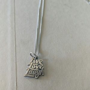 James Avery necklace and charm